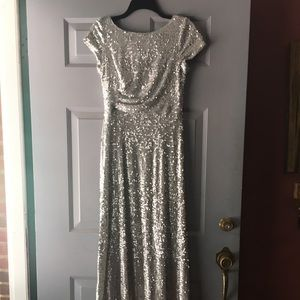 Adrianna Papell size 8 unaltered sequin dress